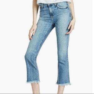 Lucky Brand Bridgette Cropped Flare Jean